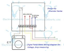 3 single coil wiring diagram wirdig wiring diagram of volt hz ampere meter current transformer ct
