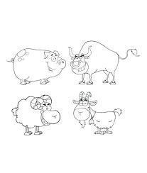 Farm Animal Template Templates Free Premium Goat Mask Printable Download