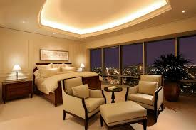 ceiling cove lighting. cove light ceiling bedroom contemporary with wood paneling pedestal table lighting