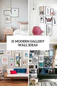 Wall Design Photos Gallery 31 Modern Photo Gallery Wall Ideas Shelterness