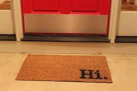 Coconut Fiber Modern Door Mat : The Holland - Innovative Modern ...