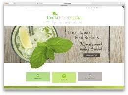 Mint Web Design Portfolio Think Mint Media