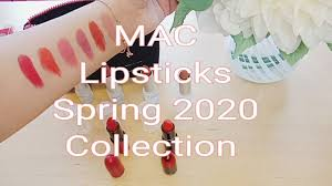 <b>MAC</b> Loud & Clear Lipsticks Spring Collection 2020   limited edition ...