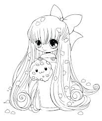 cute coloring pages for girls. Interesting Coloring Anime Cute Coloring Pages New S Page Food Girl Chibi G Inside Cute Coloring Pages For Girls I