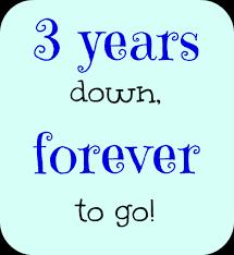 happy 3rd wedding anniversary es