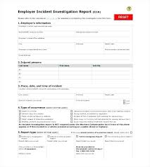 Sample Report In Pdf Delectable Sample Format Investigation Report Template Free Download Azserver