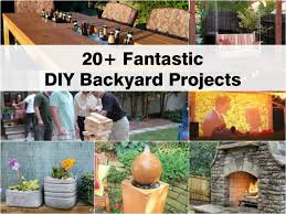 Diy Outdoor Projects 20 Fantastic Diy Backyard Projects