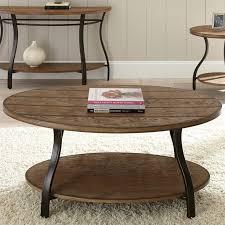 denise oval cocktail table in light oak