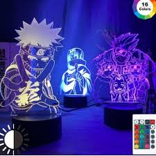 <b>Naruto Neon Lamp</b> – Room Haven