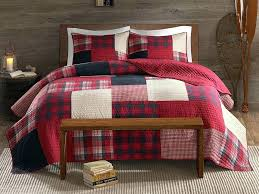full size of red king size bedding sets gingham bedspreads quilt home improvement scenic sunset set