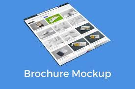 Formati Brochure Risultati Professionali Per Il Design Con Brochure Mockup