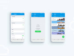 Android Weather App Design Mobile App Android Weather Forecast By Add Design On Dribbble