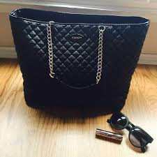 62% off Coach Handbags - Black Quilted Pattern Coach Bag from ... & Black Quilted Pattern Coach Bag Adamdwight.com