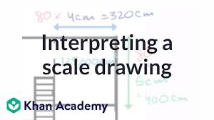 Decimal Scale Chart Interpreting A Scale Drawing Video Khan Academy