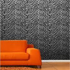 zones bedroom wallpaper: animal print wallpaper for bedrooms zebra print wallpaper