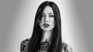 Tattoo Girl Smoke Wallpaper Tattoo Girl ...