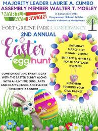 Easter Egg Hunt Flyer Myrtle Avenue Brooklyn Partnership