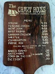 Charthouse Menu Moving Companies In Austin Texas