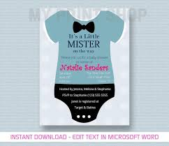 invitation download template baby boy shower invitation template youtube