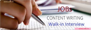 latest content writer jobs notification part time job content writing jobs notification 2017 18 latest content writer vacancy walk in