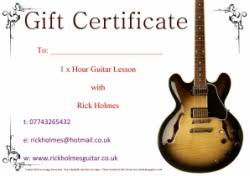 Guitar Lesson Gift Certificate Template 11 Best Photos Of Guitar Lesson Free Printable Template Guitar