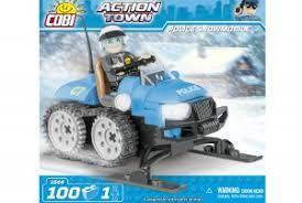 "Пластиковый <b>конструктор COBI</b> ""<b>Полицейский</b> снегоход Police ..."