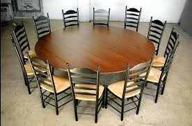 round table seats custom wood tables handcrafted farmhouse dining tables large round dining table seats kitchen