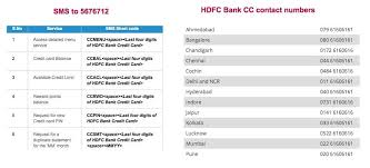 check hdfc cc statement credit card