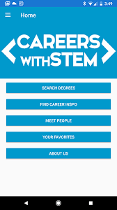 What Are Stem Careers The Stem Careers App Plan Career Opportunities And Study