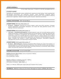 Resume For Nurses 100 resumes nurses graduate resume 84