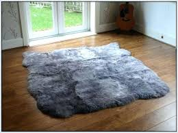 faux fur rugs ikea round faux fur rug extraordinary ideas grey amazing rugs shining large throughout