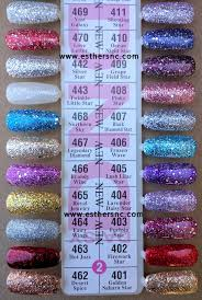 Dnd Gel Color Chart Daisy Gel Nail Polish Swatches