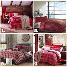 plaid ideas bedroom create a warm and