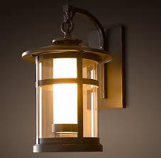 interesting restoration hardware exterior lighting rejuvenation outdoor lighting