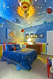 Little Boy Bedroom Sets Fascinating Little Boys Bedroom Sets Outer Space  And Solar System Theme Kids