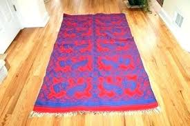 cotton flat woven rug runner lovable weave rugs peacock diamond