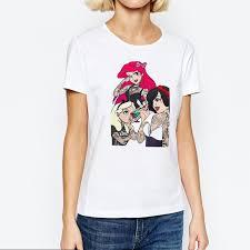 Summer <b>Ropa Mujer 2019</b> Harajuku Shirt Funny Aesthetic <b>Vogue</b> ...