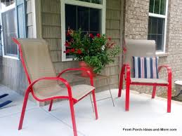 outdoor front porch furniture. Front Porch Chairs Spray Paint Chair Ideas Your Own Lawn Furniture 11 Outdoor .