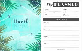 Travel Trip Planner Professional Travel Trip Planner For Any Destination