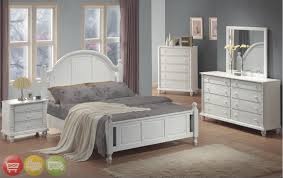 white and white furniture. white bedroom with dark furniture and
