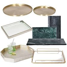 Coffee table tray, vanity tray, decorative tray, glass mirror tray, serving tray, nordic decor, gold tray, table centerpiece, bathroom tray mossaccentdecorshop 5 out of 5 stars (138) 20 Coffee Table Tray Ideas And Best Style Buys Tlc Interiors
