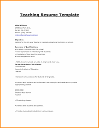 17 Cv Format For Teaching Download Waa Mood