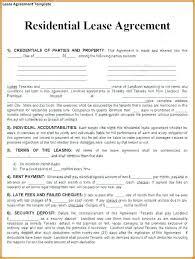 Printable Rental Agreement Template Tenant Lease Agreement Template Standard Commercial Lease