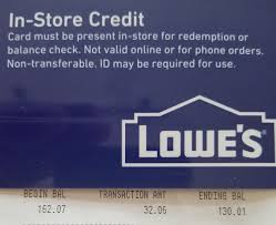 lowe s gift card 130 01 lowes 1 of 1 see more