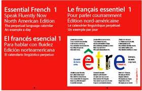Essential French 1 Perpetual Colour Calendar