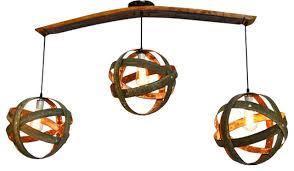wine barrel lighting. interesting wine wine barrel ring atom globe chandelier contemporarylighting globesandshades inside lighting