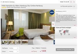 hamburg hotel und flug
