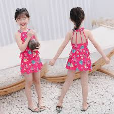 <b>2019 2019 New Children'S</b> Swimsuit Nifty Cute Cartoon Animal <b>One</b> ...