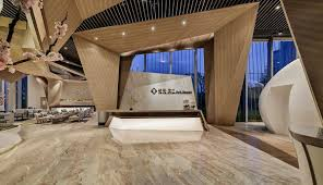 False Ceiling Design For Reception Area Origami Space Definition Australian Good Design Awards