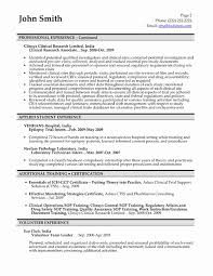 ... Cra Sample Resume Awesome Clinical Research associate Resume Sample ...